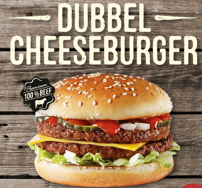 Dubbele Cheeseburger