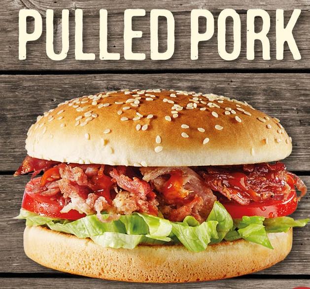 Pull Pork Burger