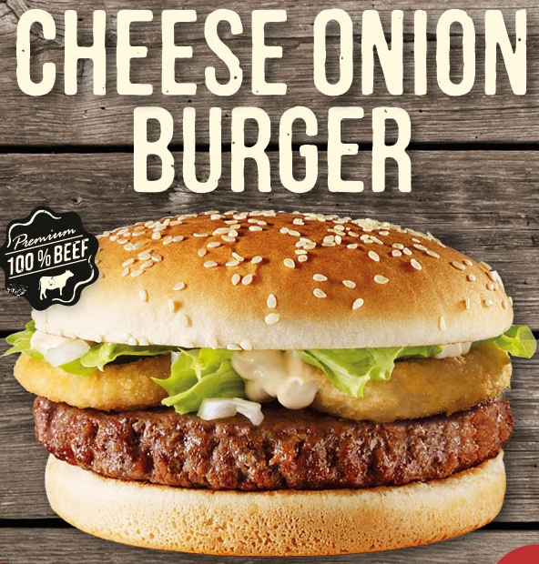 Cheese Onionburger