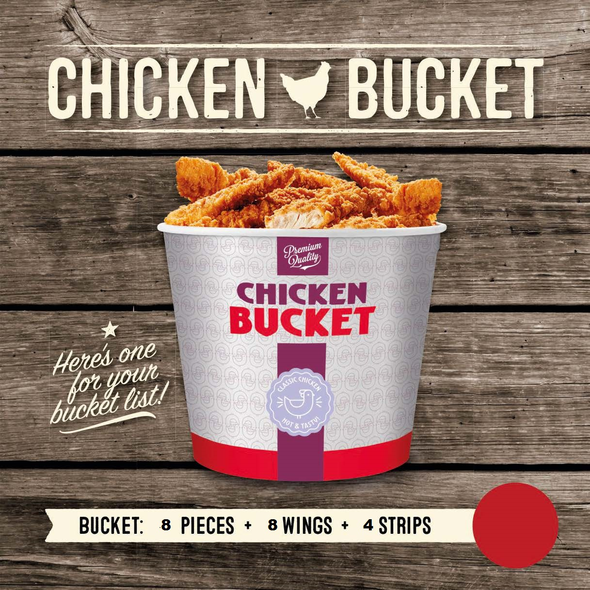 Chicken Bucket – kopie